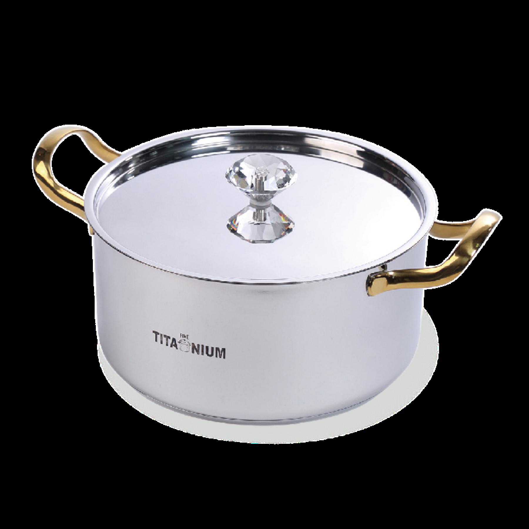 鈦鑽湯鍋(25cm)