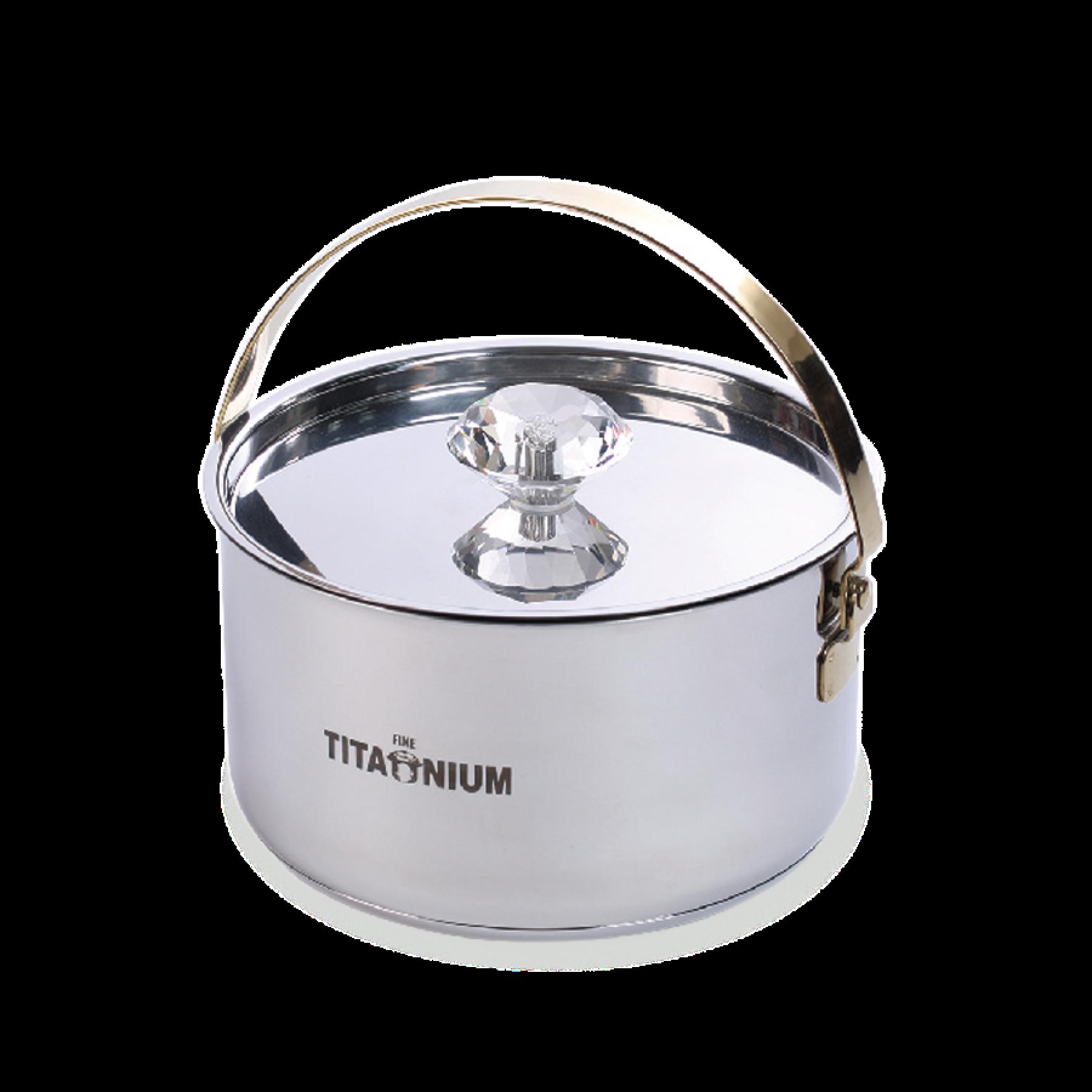 鈦鑽調理鍋(18cm)