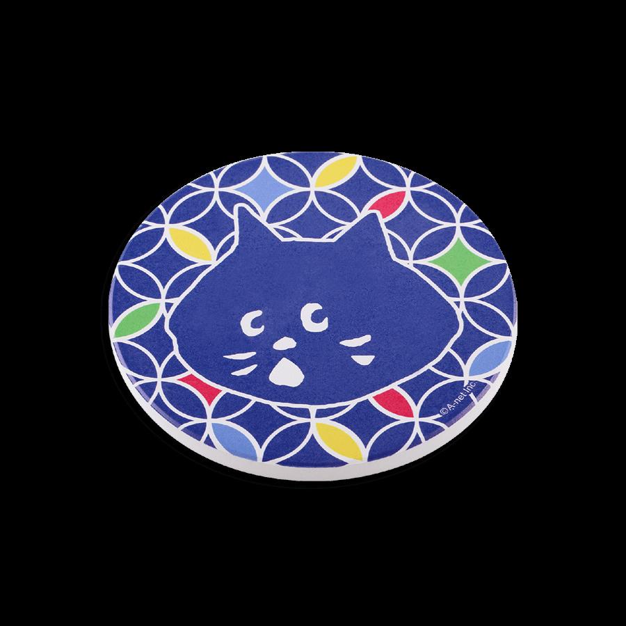 NYA陶瓷吸水杯墊 彩色款